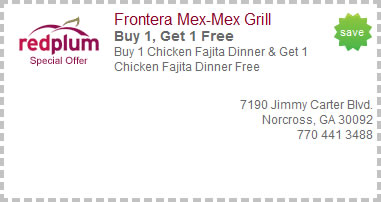 Frontera Mex Mex Grill Coupons