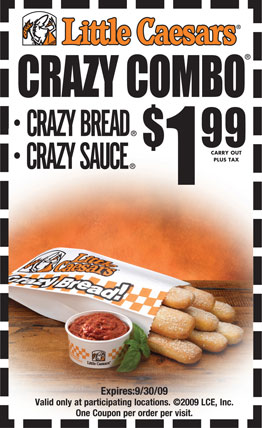 Little Caesars Pizza Restaurant Coupons